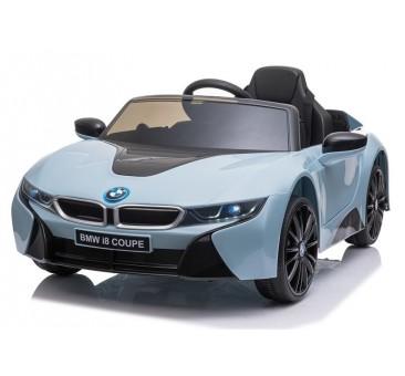 Elektromobilis BMW I8 JE1001, 12V, mėlynas