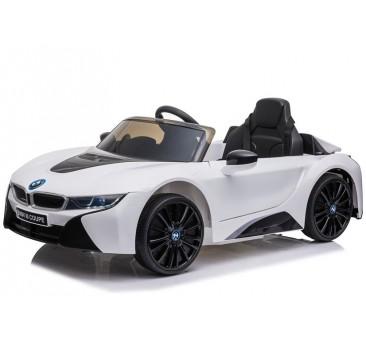 Elektromobilis BMW I8 JE1001, 12V, baltas