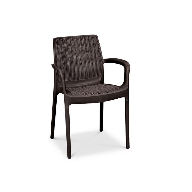 Lauko baldai BALI/MELODY 6+1 BROWN