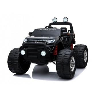 Elektromobilis FORD RANGER MONSTER, 4x4, 12V, juodas