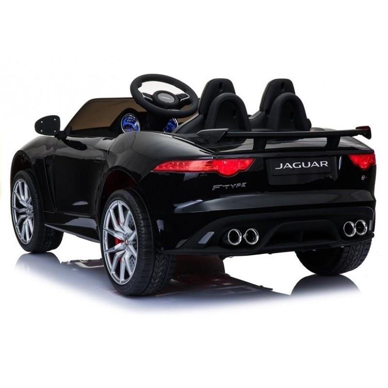 Elektromobilis JAGUAR F-TYPE, 12V, juodas