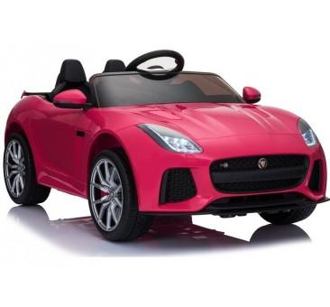 Elektromobilis JAGUAR F-TYPE, 12V, rožinis