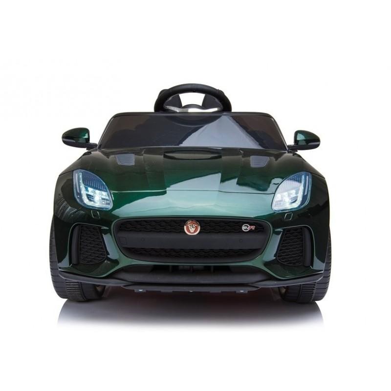 Elektromobilis JAGUAR F-TYPE, 12V, žalias lakuotas