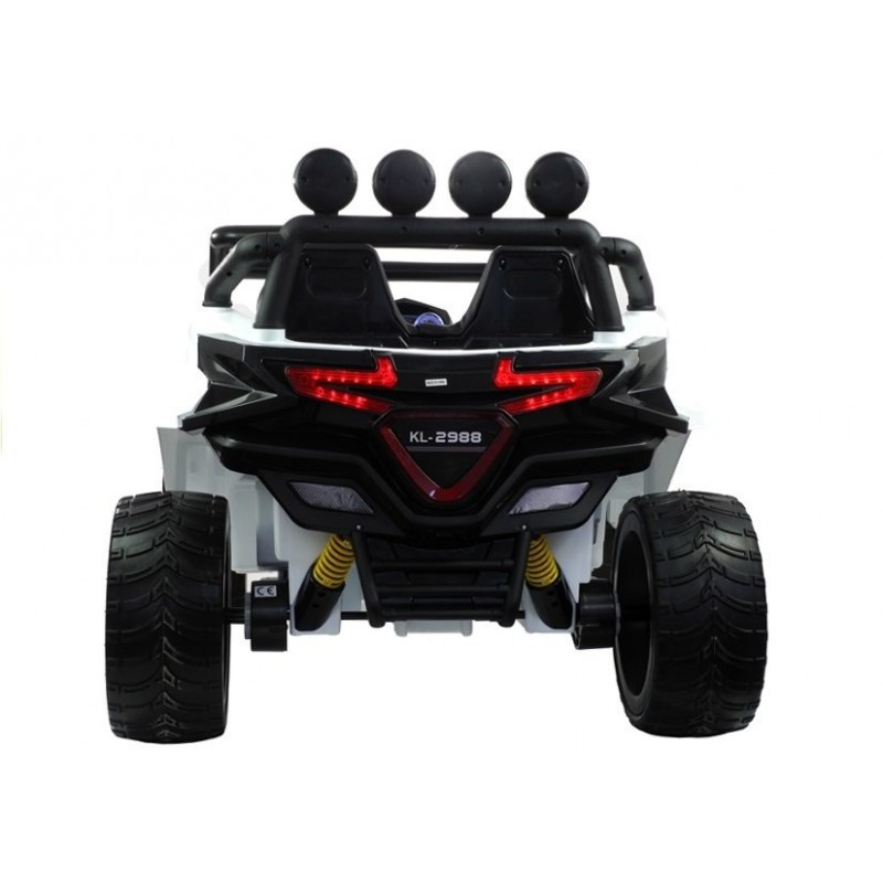 Elektromobilis KL2988, 4x4, 12V, baltas
