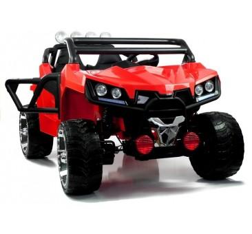 Elektromobilis KL2988, 4x4, 12V, raudonas