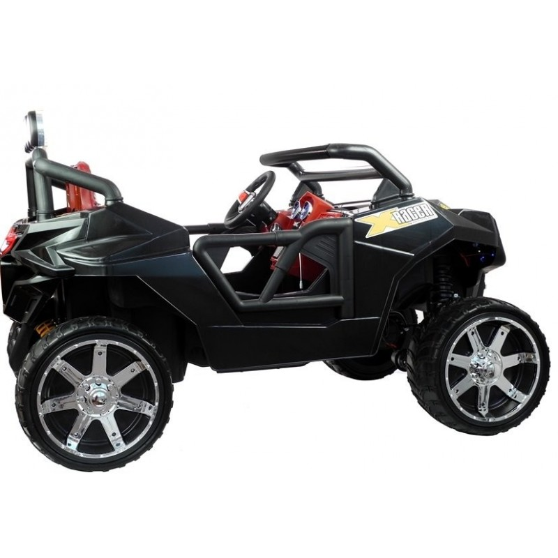 Elektromobilis KL2988, 4x4, 12V, juodas