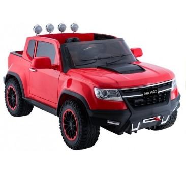 Elektromobilis JEEP ABL-1602, 4x4, 12V, raudonas