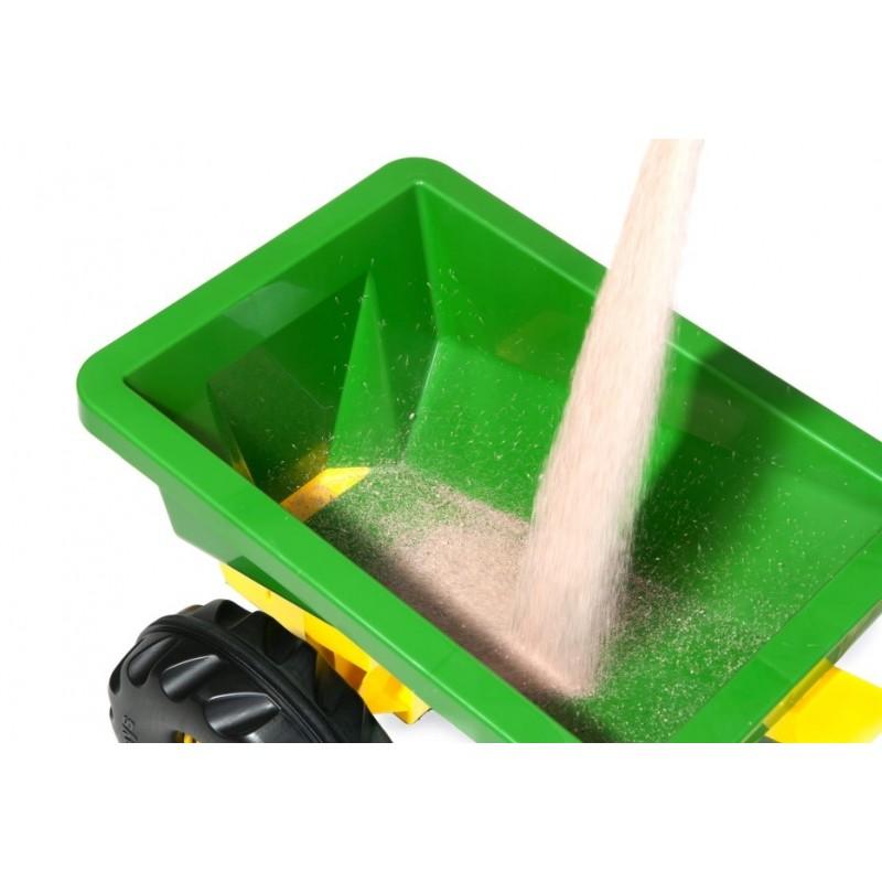 JOHN DEERE priekaba smėlio barstytuvas - sėjamoji