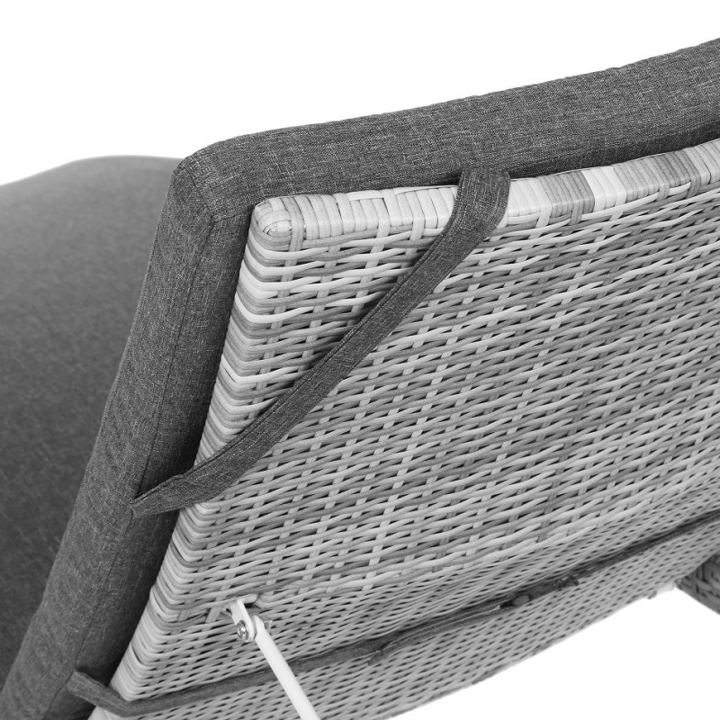 Lauko gultai MAROBELLA BEIGE/BEIGE MELANGE + staliukas