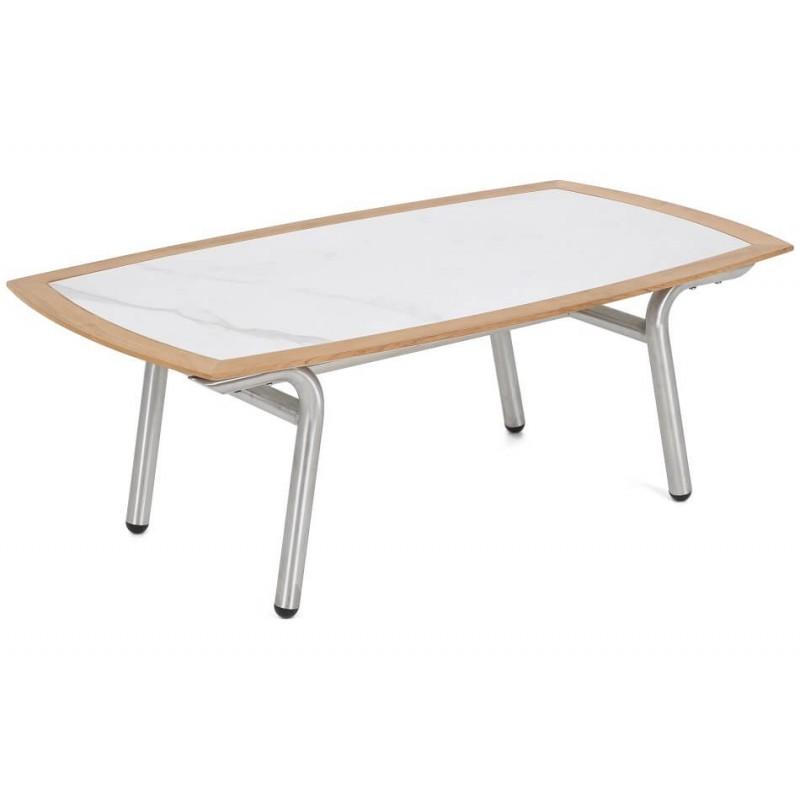 Lauko baldų komplektas GENUJA SILVER/GREY