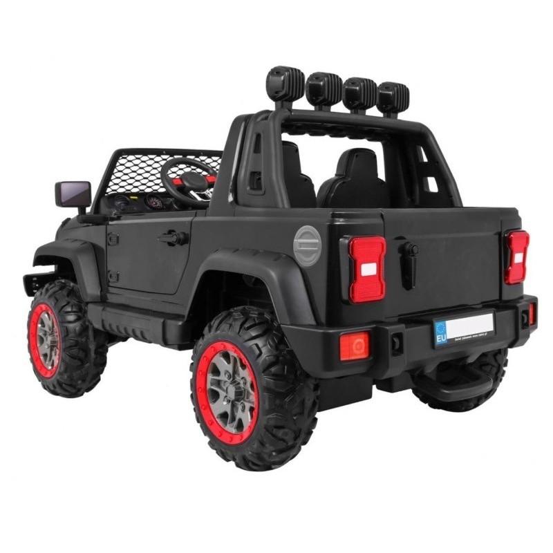 Elektromobilis ALL ROAD 4x4, 2x12V, juodas