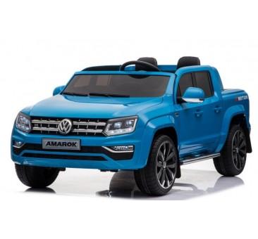 Elektromobilis VOLKSWAGEN AMAROK 4x4, 2x12 V, mėlynas
