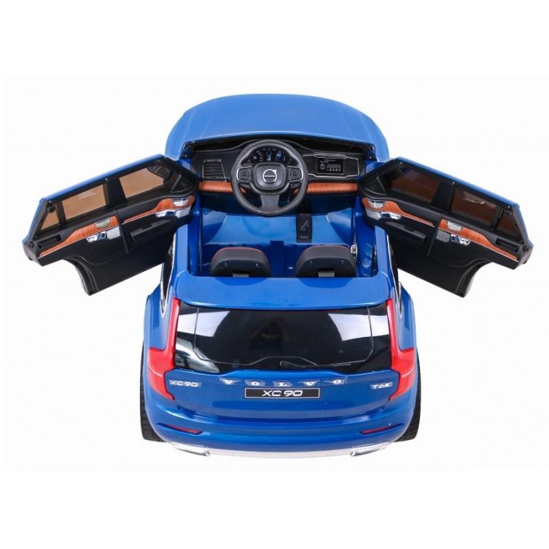 Elektromobilis VOLVO XC90, 12V, mėlynas lakuotas