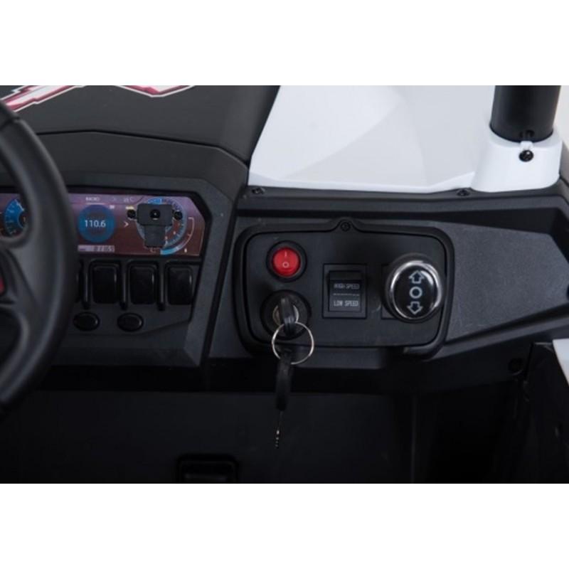 Elektromobilis JEEP XMX603, 4X4, 2x12 V, juodas