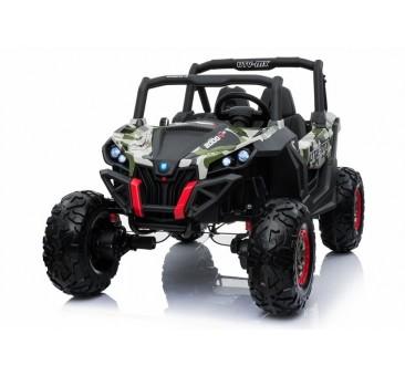 Elektromobilis JEEP XMX603, 4X4, 2x12 V, kamufliažinis