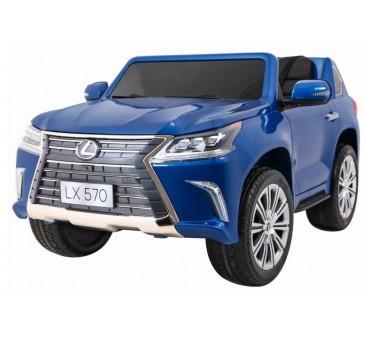 Elektromobilis LEXUS LX570, 4x4, 2x12V, mėlynas lakuotas