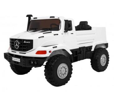 Elektromobilis MERCEDES ZETROS, 120W, 12V, baltas