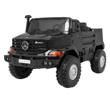 Elektromobilis MERCEDES ZETROS, 120W, 12V, juodas