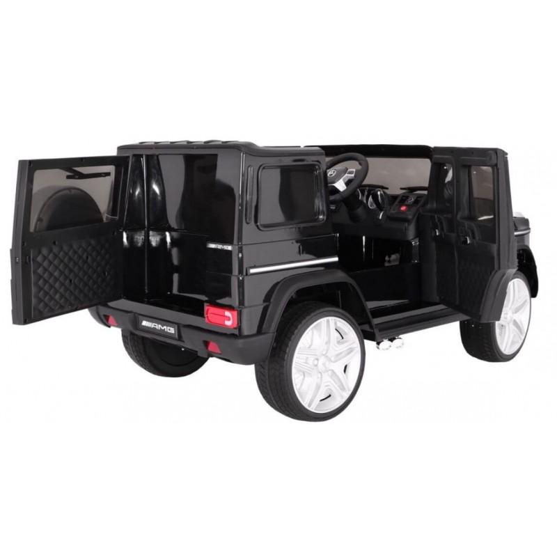 Elektromobilis MERCEDES G65, 12V, juodas lakuotas