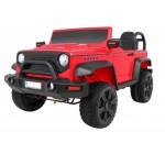 Elektromobilis STRONG 4x4, 2x12V, raudonas