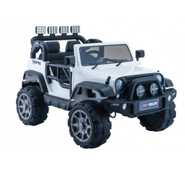 Elektromobilis JEEP HP012, 12V, baltas