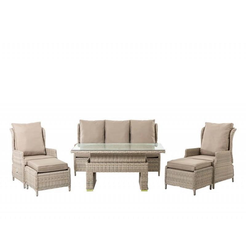 Lauko baldų komplektas BASEL