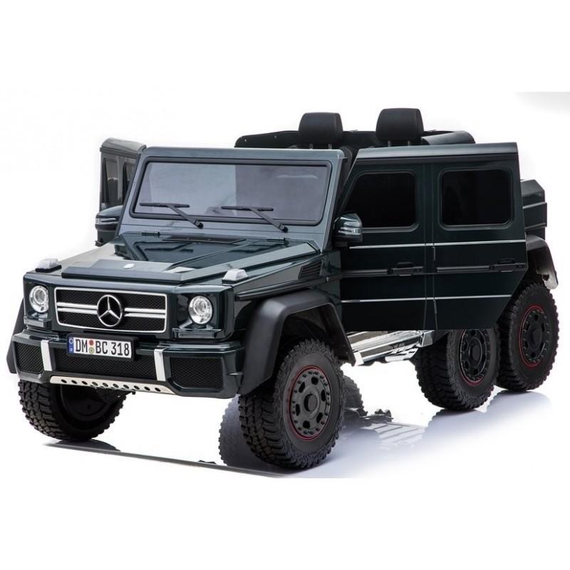Elektromobilis MERCEDES G63, 4x4, 12V, juodas