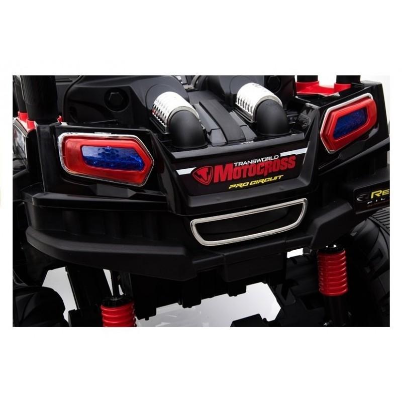 Elektromobilis BBH3688, 4x4, 12V, raudonas