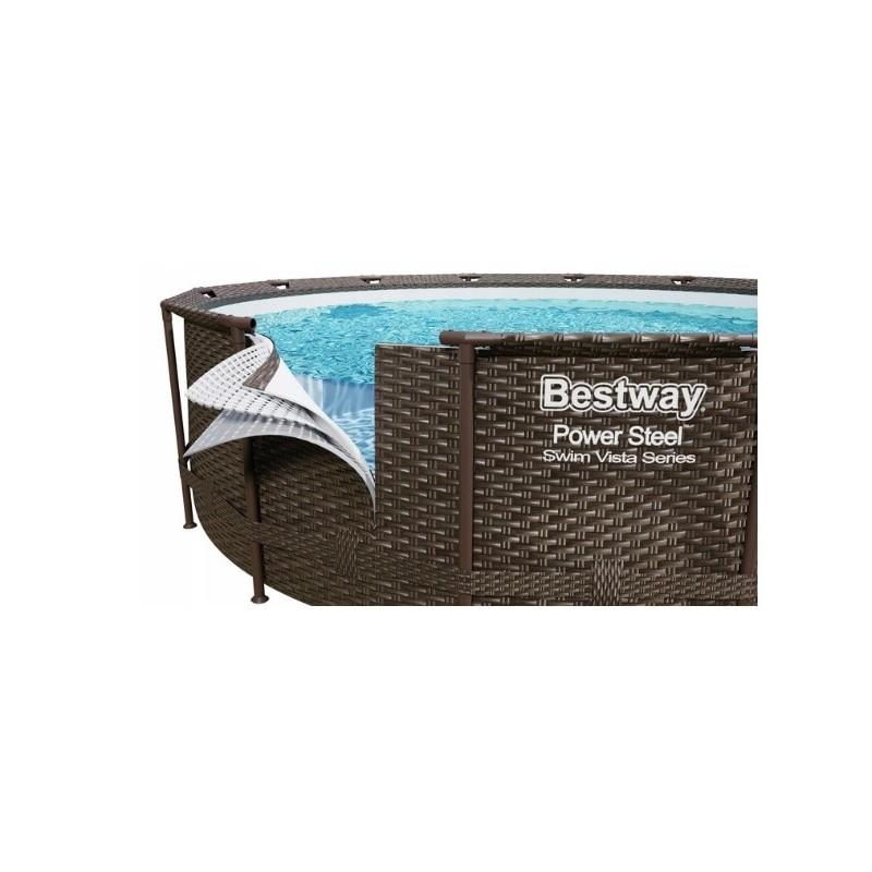 Baseinas BESTWAY 488x122 cm