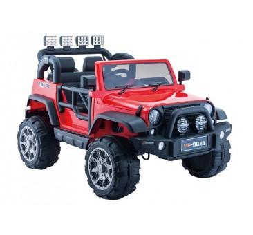 Elektromobilis JEEP HP012, 12V, raudonas