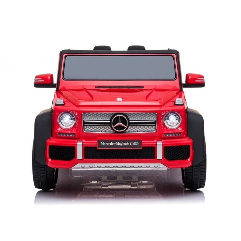 Elektromobilis MERCEDES MAYBACH G650, 12V, raudonas lakuotas