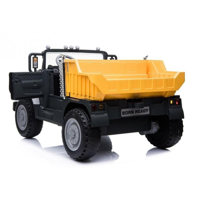 Elektromobilis sunkvežimis MACK, 12V, juodas