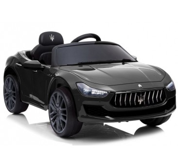 Elektromobilis Maserati Ghibli SL631, 12V, juodas