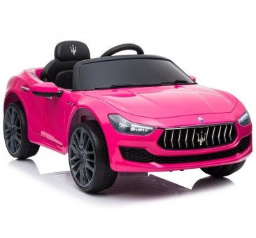Elektromobilis MASERATI GHIBLI SL631, 12V, rožinis