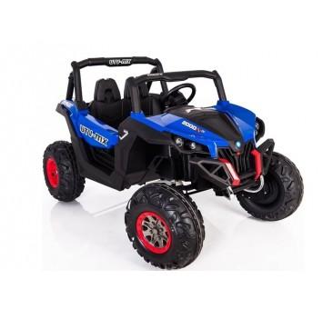 Elektromobilis JEEP XMX603, 4X4, 2x12 V, mėlynas