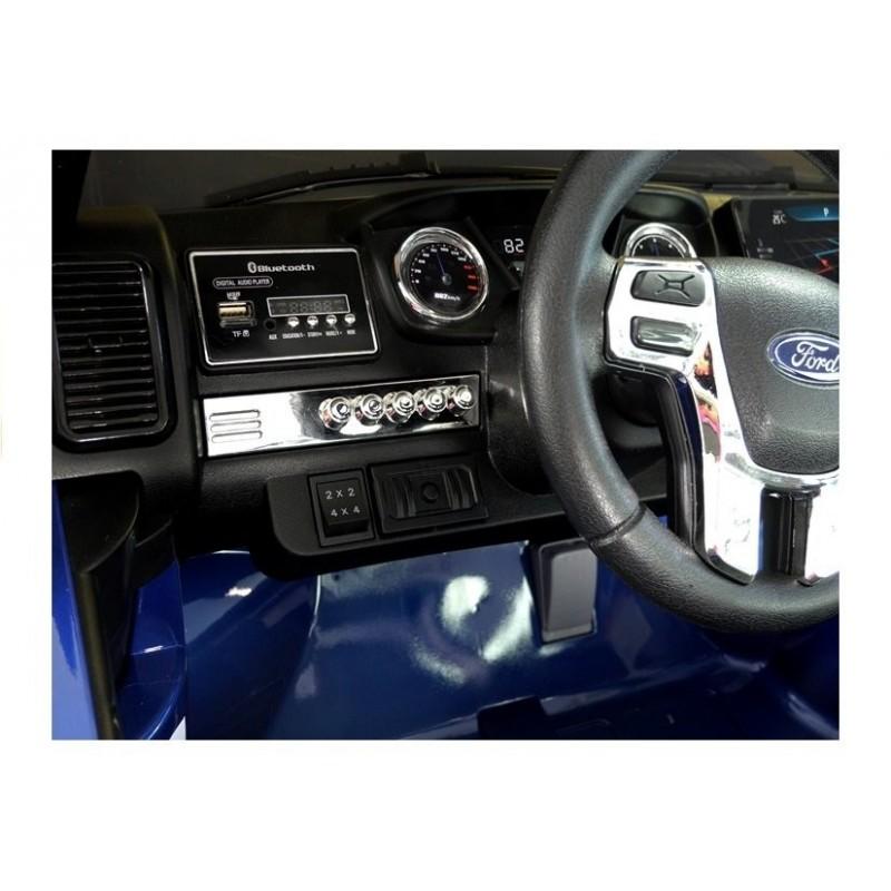 Elektromobilis FORD RANGER 4x4, 2x12V, lakuotas mėlynas