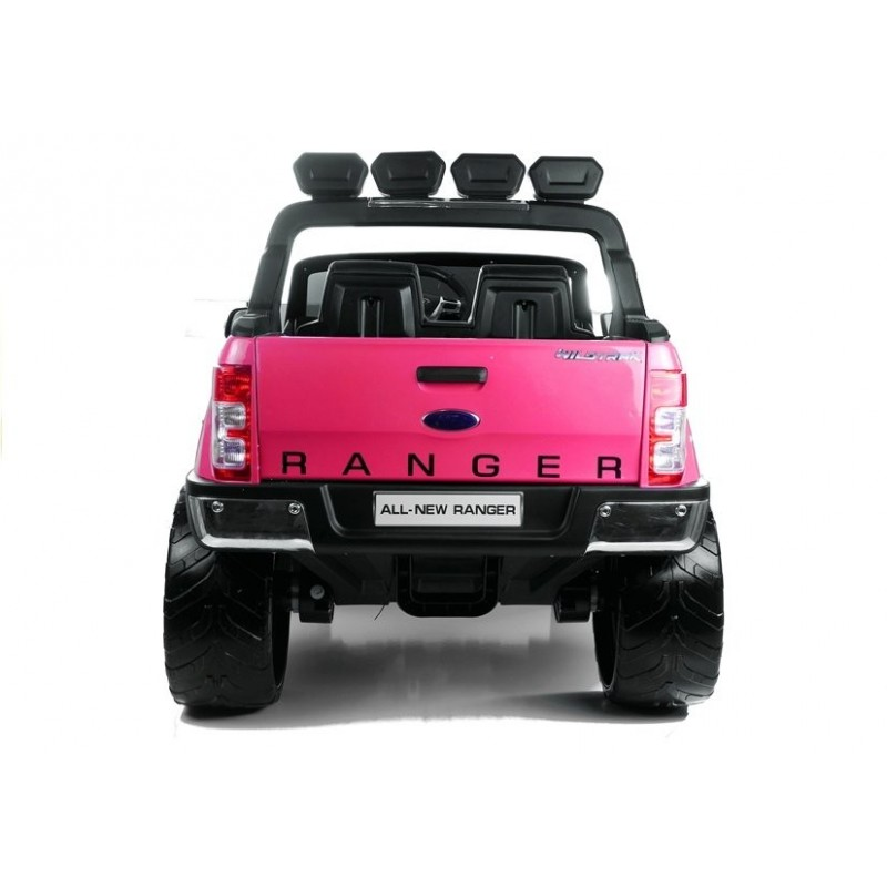 Elektromobilis FORD RANGER 4x4, 2x12V, lakuotas rožinis
