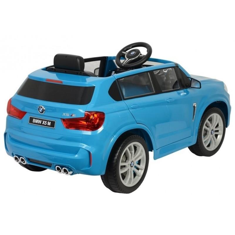 Elektromobilis BMW X5, 12V, mėlynas