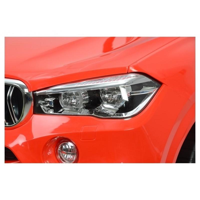 Elektromobilis BMW X5, 12V, raudonas