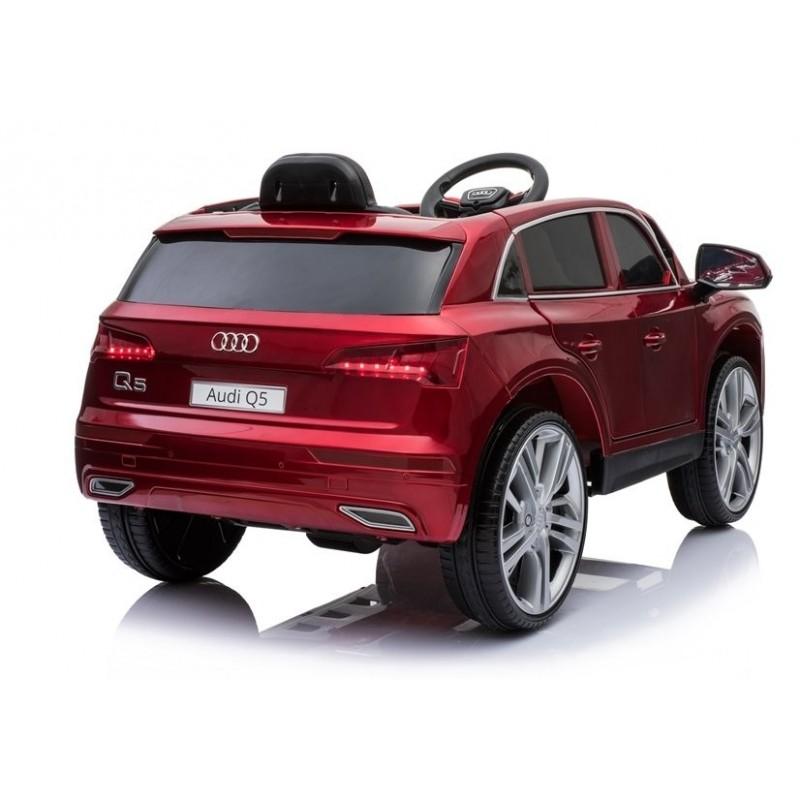 Elektromobilis AUDI Q5,12V, raudonas lakuotas