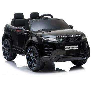 Elektromobilis RANGE ROVER EVOGUE, 12V, juodas lakuotas
