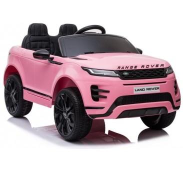 Elektromobilis RANGE ROVER EVOGUE, 12V, rožinis