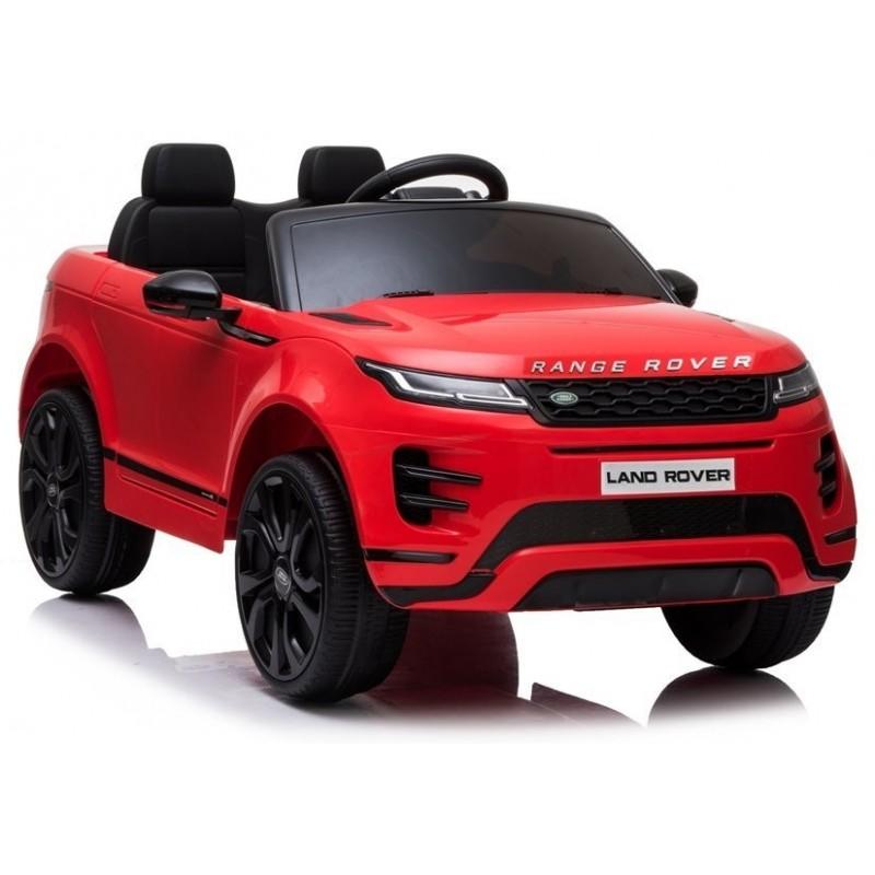 Elektromobilis RANGE ROVER EVOGUE, 12V, raudonas