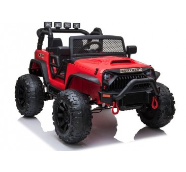Elektromobilis JEEP JC666, 2x12V, raudona