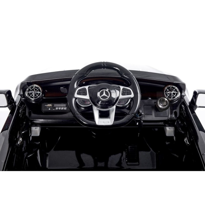 Elektromobilis MERCEDES SL65 AMG, 12V, juodas lakuotas