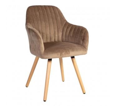 Kėdė ARIEL, 58x58,5xH85cm, ruda