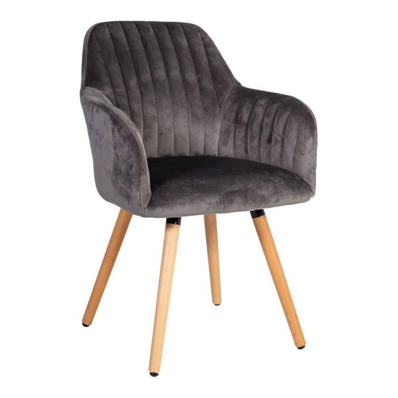 Kėdė ARIEL, 58x58,5xH85cm, pilka