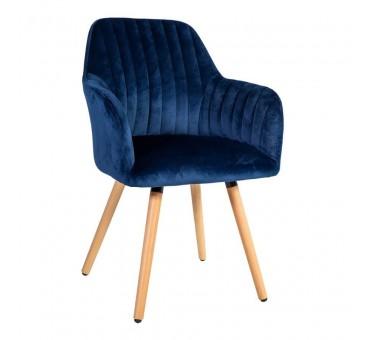 Kėdė ARIEL, 58x58,5xH85cm, mėlyna