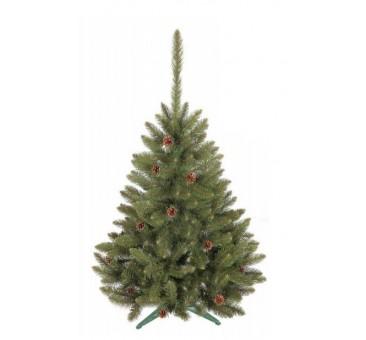 Kalėdinė eglutė su kankorėžiais, 120 cm