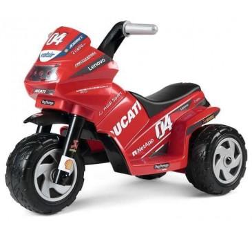 Elektromobilis motociklas PEG PEREGO MINI DUCATI EVO, 6V